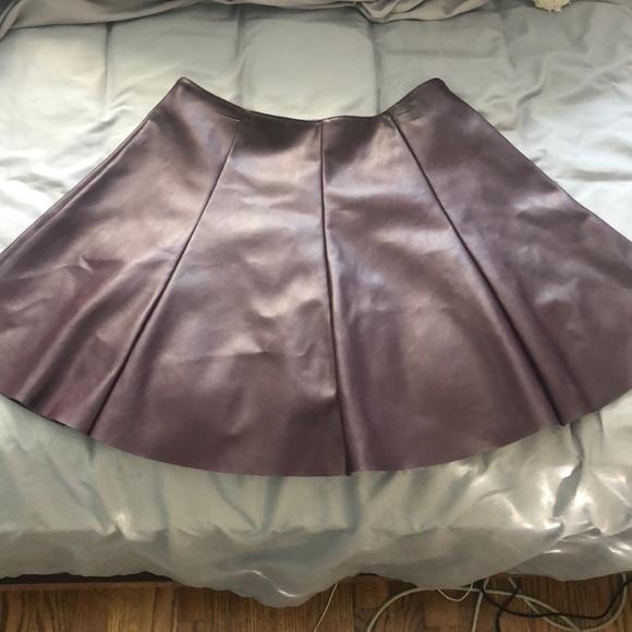 Design Lab Lord & Taylor Dresses & Skirts - Leather Skirt